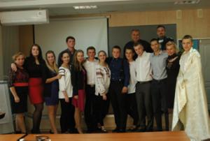 Учасники концерту до Дня працівника освіти, 2014 р